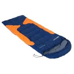 Saco de Dormir Freedom -1,5°C a -3,5°C Azul e Laranja NTK
