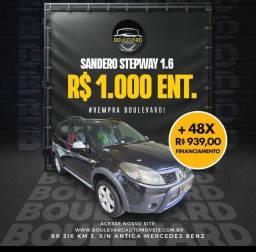 ® Super Promoção Sandero Stepway 1.6 ano 2011 top aproveite!