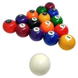 Sinuca - Bola de Bilhar Numerada 16 Peças