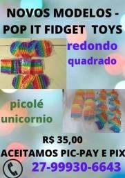 Título do anúncio: fidget toys - pop its