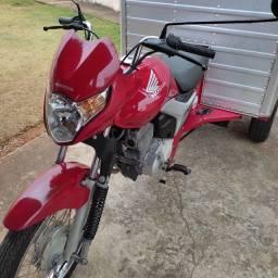 Título do anúncio: Honda cg 150 triciclo 2009 vendo ou troco