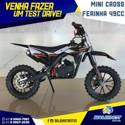 Título do anúncio: Mini Cross Ferinha 49cc