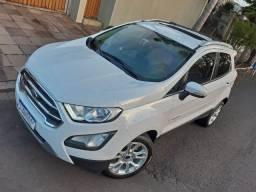 Ford Ecosport Titanium 2.0 aut, / Ipva 2021 PAGO / Teto Solar / Pneus Novos / 2018