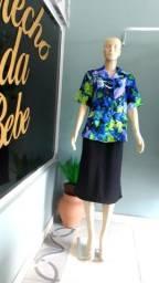 Título do anúncio: Saia e blusa