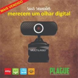 Webcam Para Home Office Multilaser WC051 480p