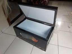 Caixa térmica inox top de linha