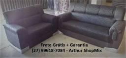 Sofá 2 e 3 Lugares - Andrea *NOVO* (27) 99618-7084 Arthur ShopMix