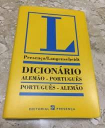 Dicionário alemão-português langenscheidt