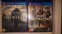 Jogos PS4 otimo estado