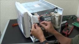 Microondas - manutenção e reparo