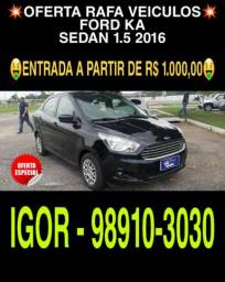 Imperdível!! Ford Ka sedan 1.5 2016 r$ 35.900,00 falar com Igor - 2016