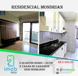 Residencial Mondrian, 3 quartos, 01 suíte (semi mobiliado)