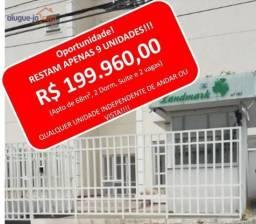 Oportunidade! apartamento com 2 dormitórios, suite, 2 vagas, à venda, 68 m² por r$ 199.960
