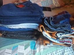 Shorts jeans feminino e masculino