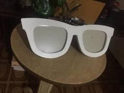 Porta retrato em formato de óculos de sol