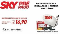 Promoção sky pre pago