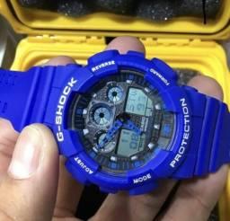 Relogio G Shock Azul