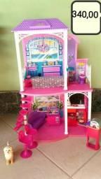 Casa da Barbie completa