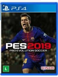 PES 2019 para PS4 LACRADO