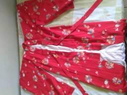 Kimono japonês completo