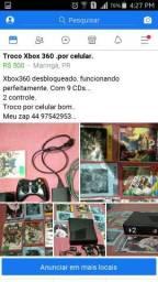 Troco Xbox360.por celular.