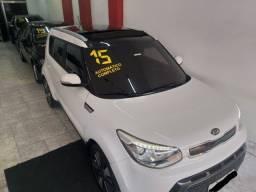 Soul Top + Teto Solar Novo 2015 troco e financio aceito carro ou moto maior ou menor valor