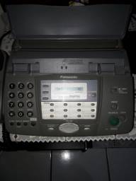 Fax panasonic, secretaria eletrônica digital,  viva voz