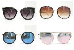 Óculos de sol feminino masculino unissex na promoção frete grátis