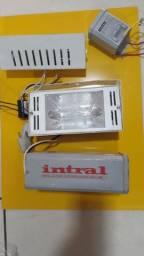 Lampada Vapor com Reator Exrerno e Interno