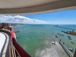 Apartamento Locação. Condomínio Costa Marina, Vista Mar. 3 quartos. Beira Mar