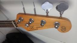Baixo Jazz Bass SX Sjb62 Captador EMG