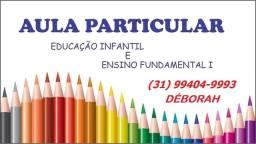 Aula Particular Educação Infantil , Alfabetização e Fundamental Professora