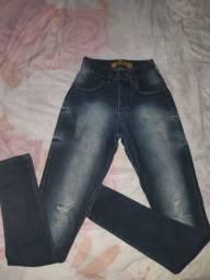 Calça jeans lycra número 36
