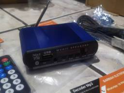 Decoder mp3 rádio
