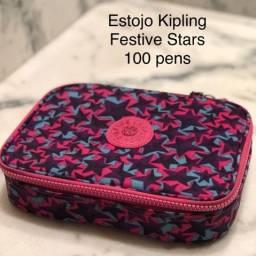 Estojo Escolar 100 pens Kipling