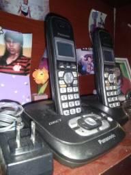 Telefone sem fio 60 reais os dois