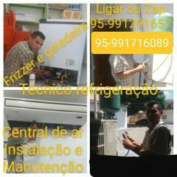 Kelvin técnico em refrigeração