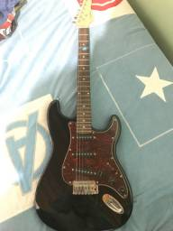 Guitarra giannini G-100 + amplificador meteoro ADR 20 + cabo + afinador