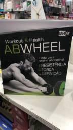 Rodinha Abs Wheel Rolo Abdominal Treino Abdomen