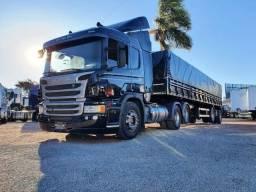 Título do anúncio: Caminhão Scania P360 + Graneleiro