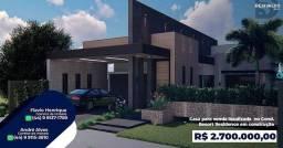 Casa em construção no Porto Rico Resort Residence 4 Suítes