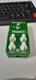 Título do anúncio: Pedal corona tc electronic chorus.