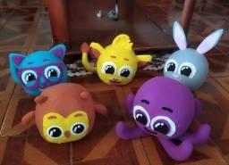 Personagens em feltro - kit bonecos - vários temas