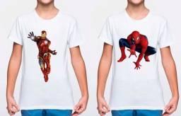 Título do anúncio: Promoção Camisa personalizada Infantil  Dia das crianças