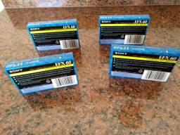 Quatro Fitas cassette lacradas