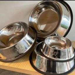 Título do anúncio: Comedouro Inox para Pets- cão e gato
