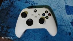 Controle Xbox Séries S + Capinha