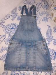 Vendo Jardineira Jeans