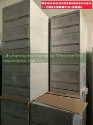 Armário Arquivo de aço para pastas  c/4 gavetas direto de fábrica