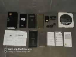 SAMSUNG GALAXY S10 NORMAL 128GB NOVO COMPLETO O VALOR E NEGOCIÁVEL OK